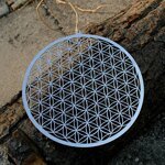"Flower of Life Wall / Window Decoration - 6.8"" (17 cm) - 1"