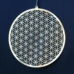 "Flower of Life Wall / Window Decoration - 6.8"" (17 cm) - 2"