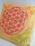 Face in the Flower of Life Pillow / Cover - 2