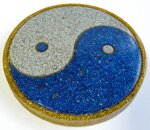 Charging Plate - Yin and Yang - 4.53'' / 115mm - 2