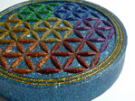 Charging Plate - Flower of Life - 4.53'' / 115mm - 2