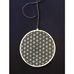 "Flower of Life Wall / Window Decoration - 6.8"" (17 cm) - 3"