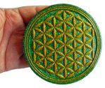 Charging Plate - Flower of Life - 4.53'' / 115mm - 4