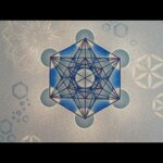 Hand Painted Metatron's Cube T-Shirt