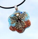 Angel Doll Orgonite Pendant