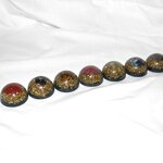 Orgonite Set - Half Spheres (7 Pcs.)