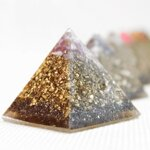 Orgonite Set - Pyramids - 7 Pcs.