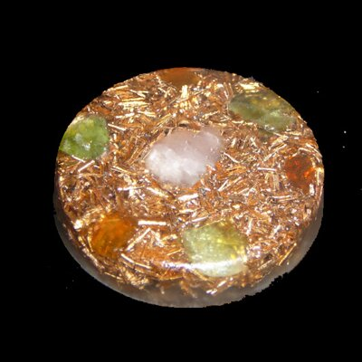 Orgone Round Amulet - Unconditional Love