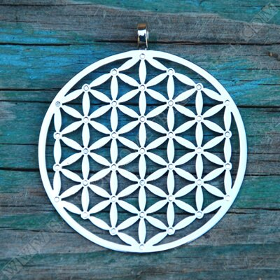 Flower of Life Pendant with 37 Neodymium Magnets
