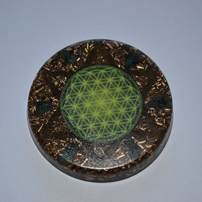 Orgonite Amulet with Hexagram - Love & Patience