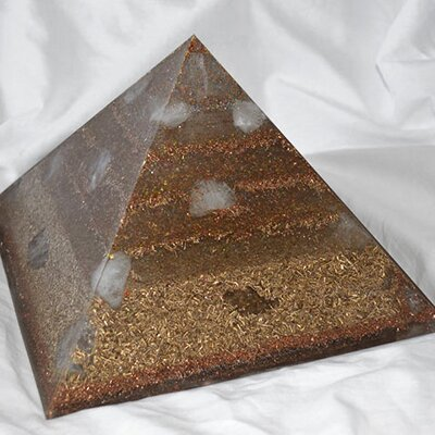 Orgone Pyramid Egypt XL - Rose Quartz
