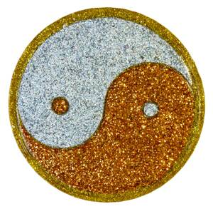 Charging Plate - Yin and Yang - 4.53'' / 115mm