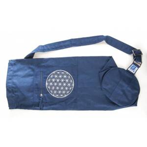 Flower of Life Yoga Bag - Blue