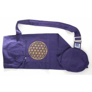 Flower of Life Yoga Bag - Purple
