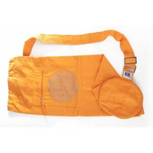 Flower of Life Yoga Bag - Orange
