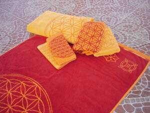 "Double Beach Towel - Yellow - 59"" x 78"" (150 x 198 cm)"