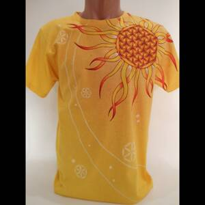 Hand Painted Sun of Life T-Shirt