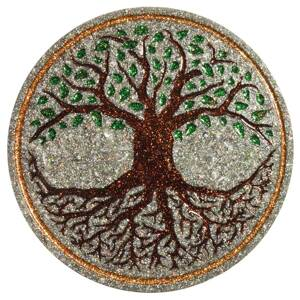 Charging Plate - Tree of Life - 4.53'' / 115mm