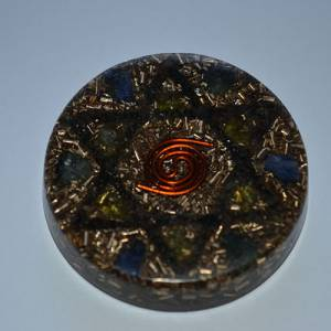 Orgonite Amulet with Hexagram - Health